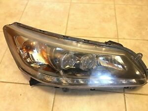 Oem Led Headlight Assembly W drl Right Passenger Side For 203 15 Honda Accord