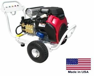 Pressure Washer Portable Cold Water 8 Gpm 3500 Psi 20 Hp Honda Ar
