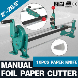 25 Manual Stamping Foil Paper Cutter Sturdy Film Wall Paper Great Wise Choice