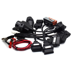 Qty 8 Obd Obdii Cables For Cdp Tcs Hd Pro Cars Diagnostic Interface Scanner Kit