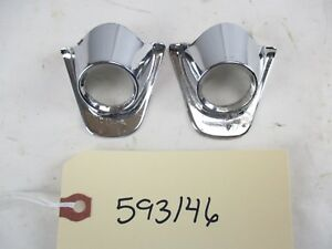 1960 Chevy Impala All Wiper Escucheons Bezels L r Oem