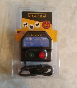 Zareba Ea5m z Ac Powered Low Impedance Charger 5 Mile New Never Open
