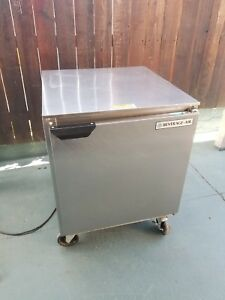 Beverage Air Under Counter Stainless Steel Freezer Model Ucf27a
