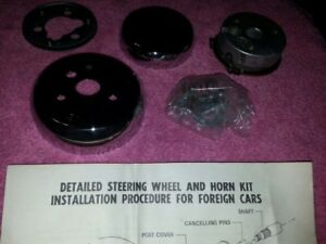 1970s Superior 500 Steering Wheel Hub Horn Adapter Kit 86 2830