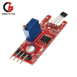 Hall Magnetic Standard Linear Module Ky 024 For Arduino Avr Pic New