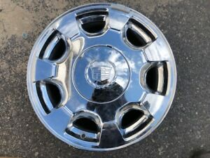1 Used 16 X 7 Cadillac Deville 2000 2005 Chrome Wheels 4550