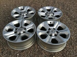 14 18 Toyota 4runner 17x7 Alloy Wheel Rims Oem 4261135520 Tacoma Fj Set Of 4