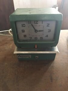 Vintage Acroprint Electric Time Clock 150nr4