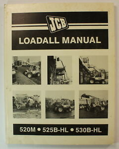 Jcb Loadall Manual 520m 525b hl 530b hl Shop Repair Service Manual
