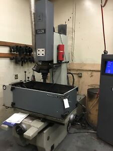 Elox Workmaster 45 Die Stinker Edm With Elox Future Controls
