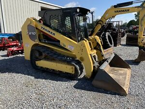2017 T210 Yanmar Trac Loader 400hrs Cab A c And Heat