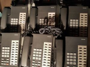 Toshiba Dkt2020 s 6 Business Telephones Lot 1004