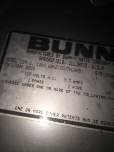 Bunn Ultra 2 Cds Slushee Slush Machine Auger Motor 120v