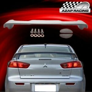 2008 2009 Oe Style Grade A Abs Add on Rear Spoiler Wing Fits Mitsubishi Lancer