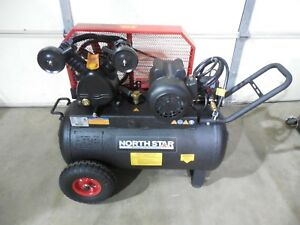 Brandname Belt Drive Horizontal Portable Air Compressor 20 gallon 2hp