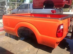 Ford Super Duty Long Truck Bed 8ft No Tailgate 2011 16