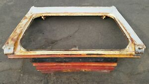 1966 1967 Mercury Comet Cyclone Trunk Weatherstrip Channel Tail Light Panel