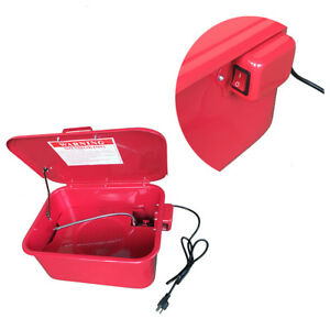 3 5 Gallon Portable Parts Washer Work Shop Auto Electric Solvent Pump Cleaning