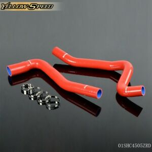 Silicone Coolant Radiator Hose Red For 77 82 Chevy Corvette V8 5 7l 5 0l 1978