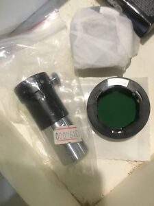 Leica Cme Microscope Phase Contrast 1 Eyepiece 13194000 And 1 Filter 13596006