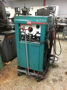 300 Amp Tig Welder Air Products Vis arc Thfc300rj With Water Tank And Cart