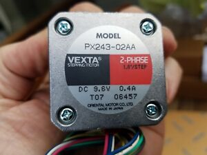 Lot Of 5 Oriental Motor Vexta Px243 02aa 2 Phase Stepper Motor New