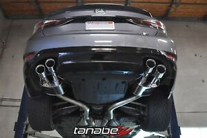 Tanabe Medalion Touring Axleback Exhaust For 16 17 Lexus Gsf 5 0l V8 T70201a