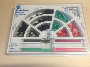 Super Snap Finishing And Polishing Disk System Dental Rainbow Technique Kit