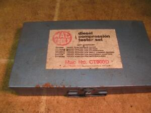 Mac Tools Ct900d Diesel Compression Tester Set Gm Vw Small Cummins Mercedes