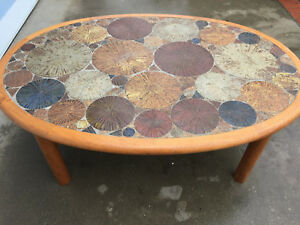 Tue Poulsen Haslev Denmark Coffee Table Mid Century Eames Danish Modern Era