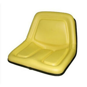 Replacement Seat High Back Yellow For John Deere