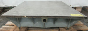 30 X 36 Cast Iron Surface Fixture Layout Plate For Metalworking