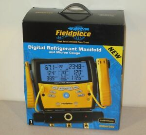 Fieldpiece Sman360 Hvac Digital Manifold With Micron Gauge New