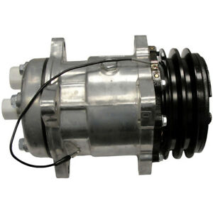 Ac Compressor Fits Ford New Holland Tractor 8530 8600 8630 8700 8730