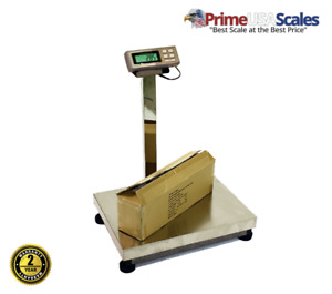 Bench Scale 1 000 Lb X 0 2 Lb Prime Usa L 500bs Large Stainless Steel Bench