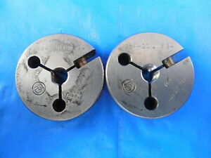 294 20 Uns 2a Thread Ring Gages Go No Go Pds 2600 2559 Inspection Tooling