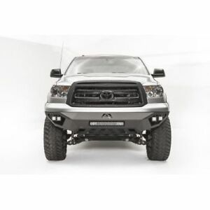 Fab Fours Tt07 D4451 1 Vengeance Front Bumper Black For 07 13 Toyota Tundra