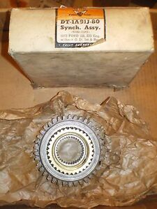 1963 Ford 221 223 Engine W O Od 3 Speed Transmission 1rst Reverse Synchronizer