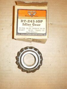 58 62 Plymouth 59 60 Dodge 60 61 Dart 3 Speed Transmission Idler Gear 1853695
