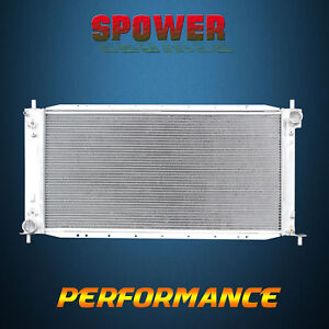 2 row core Aluminum Radiator For Ford F 150 F 250 Lariat Xl Xlt Expedition 97 98