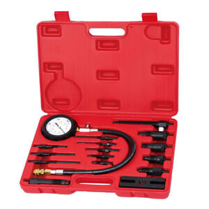 Professional Diesel Engine Compression Tester Test Set Kit For Auto Tractor New
