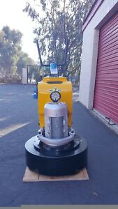 27 Concrete Grinding And Polishing Machine 220v Single Phase Power