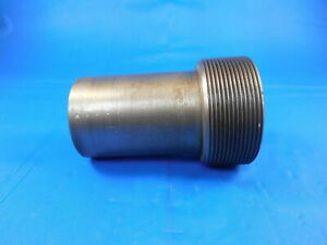 Shop Made 1 767 18 Thread Plug Gage P d 1 730 Machine Inspection Tooling