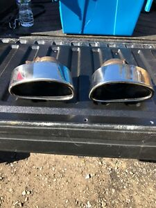 Porsche 996 Turbo Oem Exhaust Tips Pair 996 111 252 74 And 996 111 251 74
