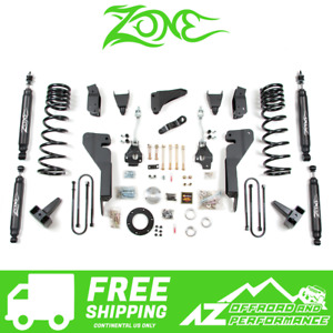 Zone Offroad 8 Suspension System Lift Kit Fits 03 07 Dodge Ram Hd 2500 3500