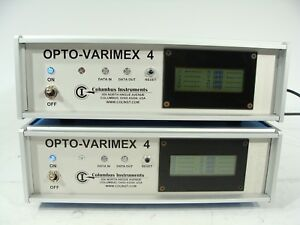 2 X Columbus Instruments Opto varimex 4 Small Animal Activity Meter Controller