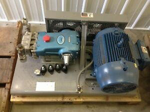 Cat Pressure Pump 2531 Stainless 18gpm 1200psi With 460volt 3 Phase Motor