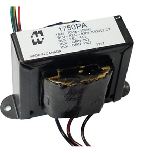 Output Transformer Hammond For 18w Combo