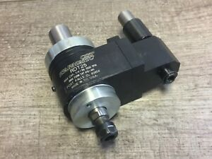 Nice Tapmatic Rdt25 0 1 4 Cap Tapping Head Er11 W 1 Shank
