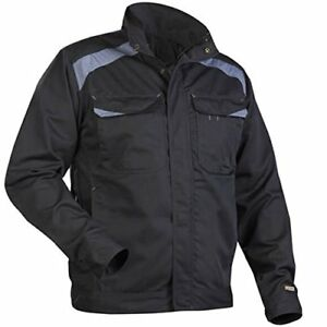 Men s Workers Durable Safety Warm Construction Jacket Size Xxxl Black grey